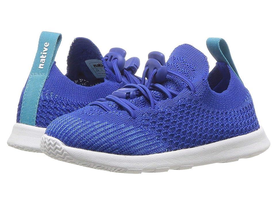 Native Kids Shoes AP Mercury Liteknit (Toddler/Little Kid) (Victoria Blue/Shell White 1) Kids Shoes