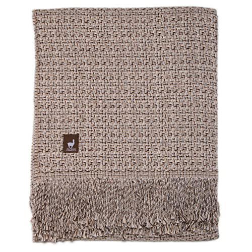 37b20971ba AndeanSun Cross Weave Authentic Alpaca Throw (not a Fake as Many for Sale  here)