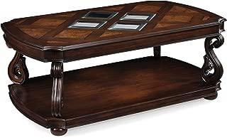 Magnussen Harcourt Cherry Finish Wood Rectangular Cocktail Table