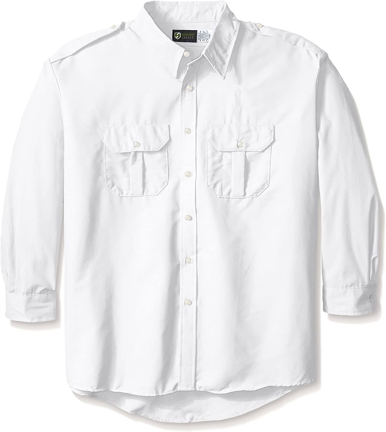 Horace Small Men's Classic Long Sleeve Security Big-Tall Shirt