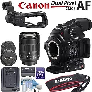 Canon EOS C100 with Dual Pixel CMOS AF & EF-S 18-135mm f/3.5-5.6 Lens Bundle