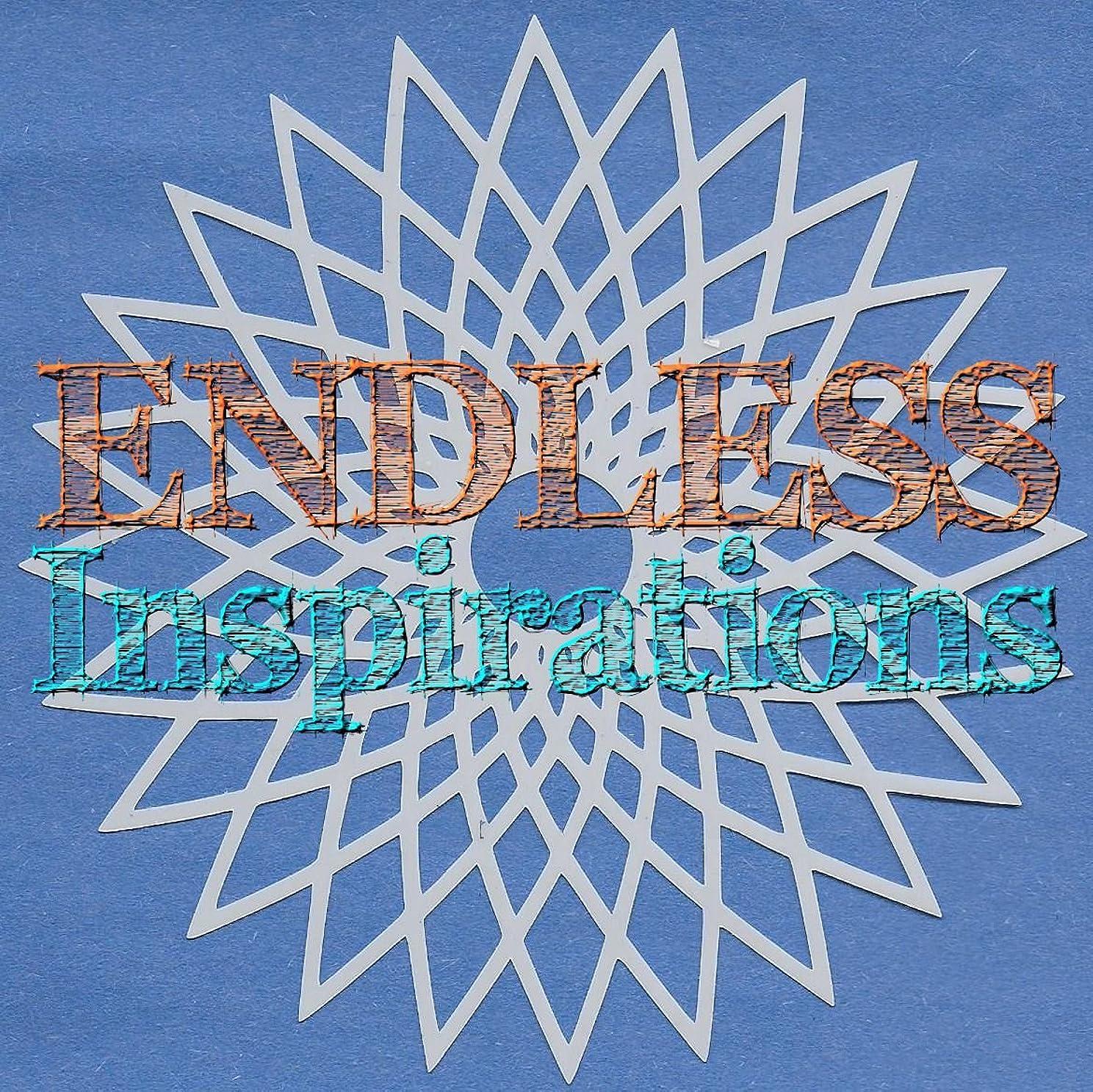 コンプライアンス解読するコーチEndless Inspirations Original Stencil, 15cm x 15cm, Spirograph 4