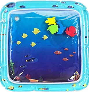 The Perfect Fun time Play Activity Center. Whispex Premium Inflatable Baby Water mat Tummy Time Toys