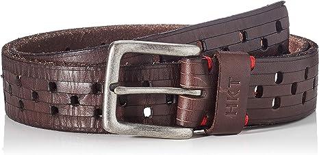 TALLA 105 (Talla del fabricante: 28). HKT by Hackett Hkt Multi Punch Cinturón para Hombre