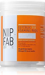 Nip + Fab Glycolic Fix Dual Action Foaming Pads, 2.7 Ounce