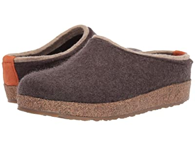 Haflinger Kris (Smokey Brown) Clog Shoes