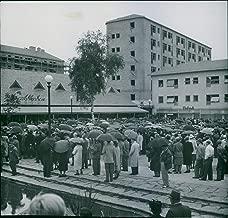 Vintage photo of Svenska Sl246;jdf246;reningens bostadsutst228;llning Stay better in the field of Guldheden. - 18 August 1945