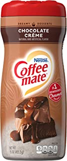 COFFEE MATE Chocolate Crème Powder Coffee Creamer 15 Oz. Canister | Non-dairy, Lactose Free Creamer