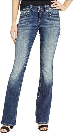 Dreamcatcher Bootcut Jeans in Dark Blue