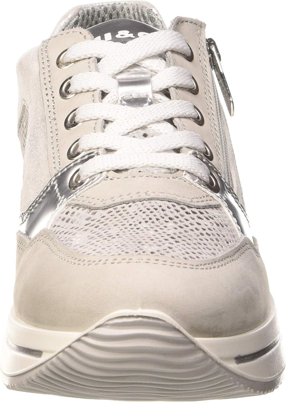 IGI&CO Scarpa Donna Dku 51645, Sneaker Beige Perla 5164522