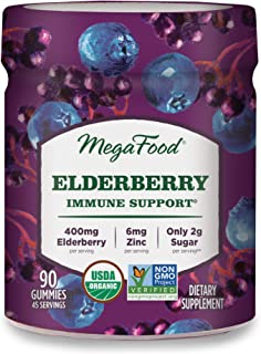 Megafood Elderberry Immune Support Gummies Berry 90 gummy