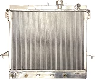 Direct Replacement STAYCOO 2 Row All Aluminum Radiator for 2006-2012 Chevy Colorado GMC Canyon Hummer H3 H3T
