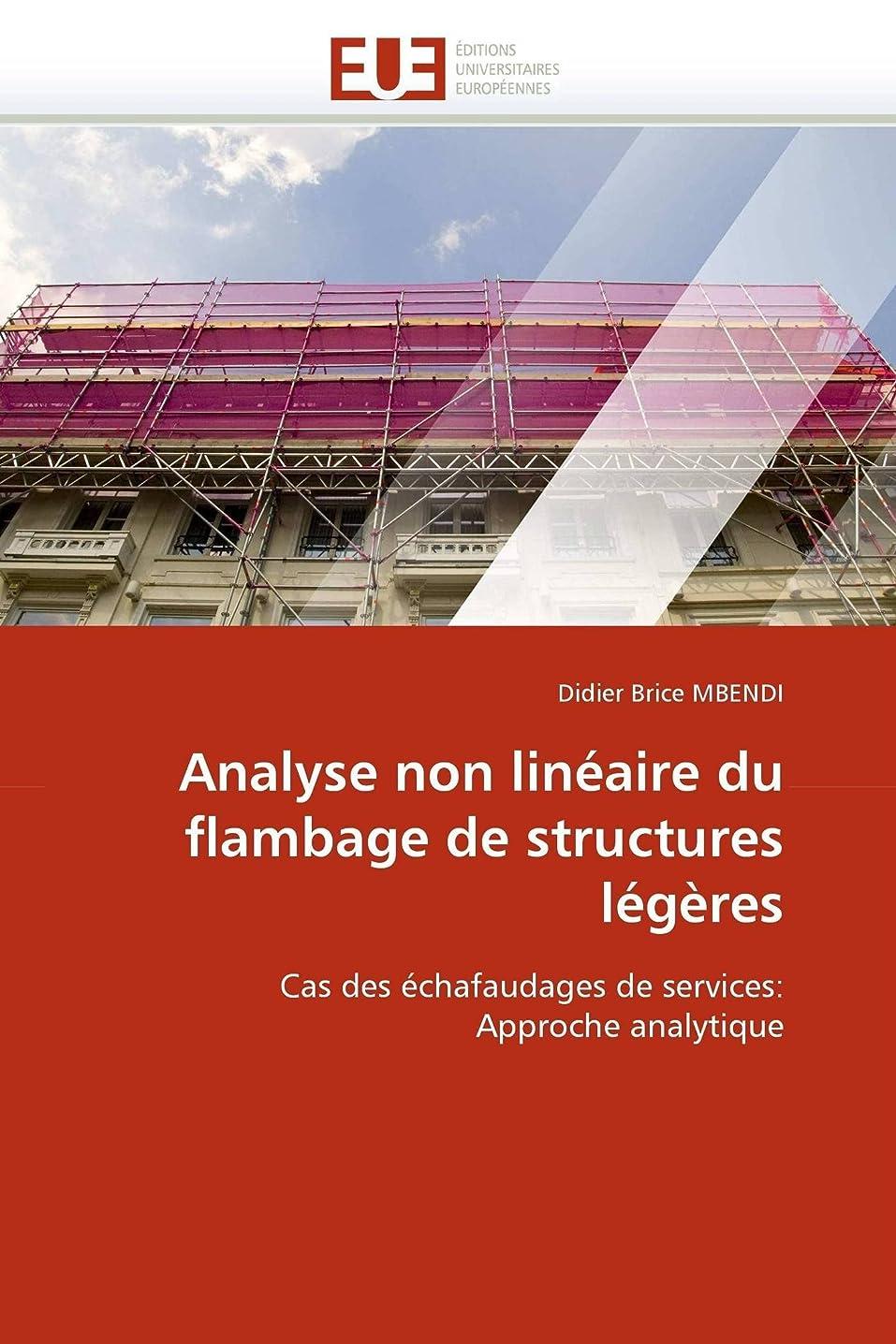丘挑発する悪のAnalyse Non Linéaire Du Flambage de Structures Légères (Omn.Univ.Europ.)