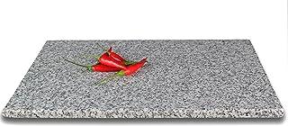 DiConcetto - Tabla de cortar de granito, Cristales de granito, Cristal., 30 x 20 x 1