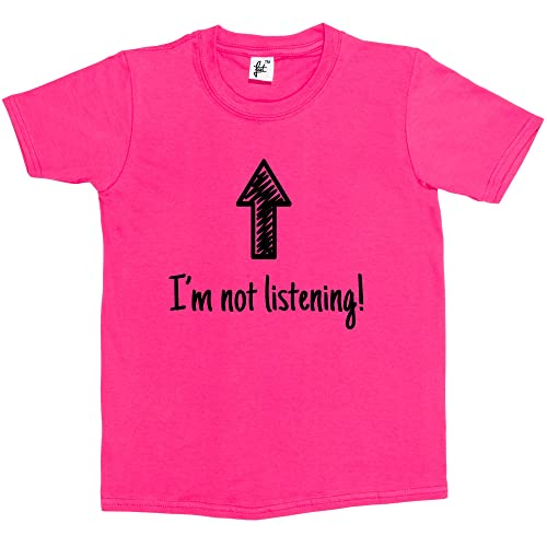 Toddler//Kids Short Sleeve T-Shirt Im Not Crazy My Big Sister Had Me Tested