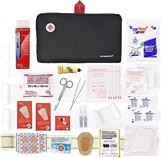 Botiquín de primeros auxilios PREMIUM con 120 artículos (