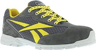 39 gris//amarillo REEBOK WORK IB1010 S1P Audacious Sport Zapatos de trabajo con puntera de aluminio impermeables 1 gris//amarillo