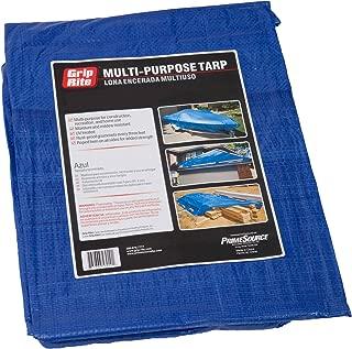 Grip-Rite TARP4060 Tarp, Blue, 40-by-60-Feet