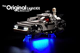Brick Loot Lighting Kit for Your Lego The Delorean time Machine Set 21103 Set Lego Set NOT Included
