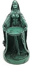 Ebros Gift Irish Triple Goddess Danu Figurine Don Divine Feminine Source Wisdom Wealth Strength Statue Moon Goddess