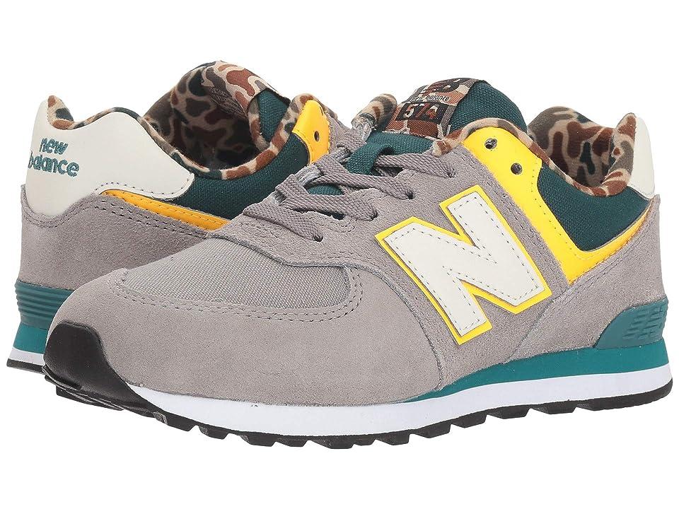 New Balance Kids GC574v1 (Big Kid) (Marblehead/Jade) Boys Shoes