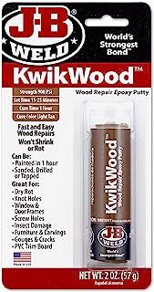 Best J-B Weld 8257 KwikWood Wood Repair Epoxy Putty Stick- 3.5 inch, Tan Review