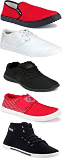 Shoefly Sports Running Shoes/Casual/Sneakers/Loafers Shoes for Men&Boys (Combo-(5)-1219-1221-1140-303-749)