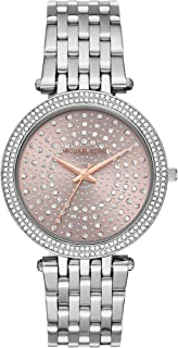 Michael Kors Women's Darci Watch- Glamorous Three Hand Quartz Movement Wrist Watch with Crystal Bezel