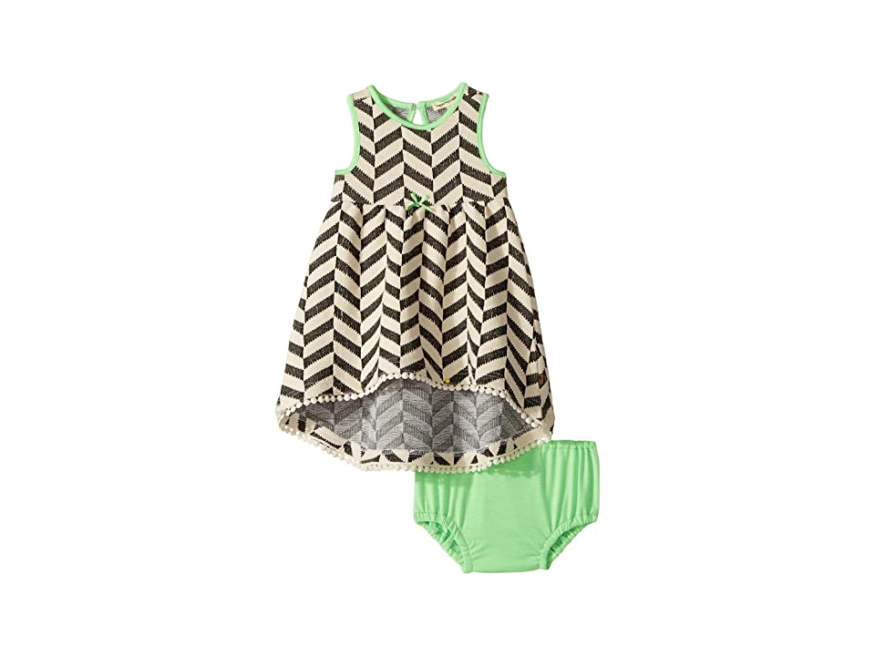 Appaman Kids Naxios Dress Set (Infant) (Cabana Chevron) Girl