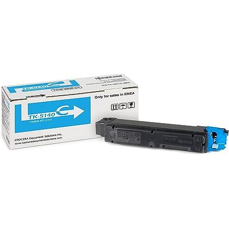 Kyocera Tk 5140c Toner Cyan Original Tonerkartusche 1t02nrcnl0 Kompatibel Für Ecosys M6030cdn M6530cdn P6130cdn Bürobedarf Schreibwaren