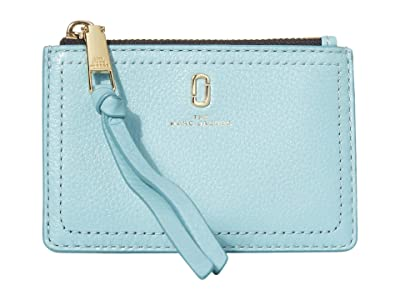 Marc Jacobs Top Zip Multi Wallet (Silent Blue) Wallet Handbags