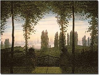 Trademark Fine Art Remembrence of Johann Bremen by Caspar Friedrich キャンバスウォールアート 18 by 24-Inch BL0076-C1824GG