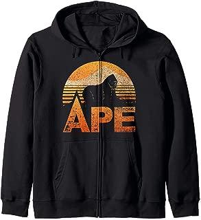 APE Owner Lovers Vintage Retro Zip Hoodie