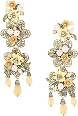 Force of Nature Chandelier Floral Earrings