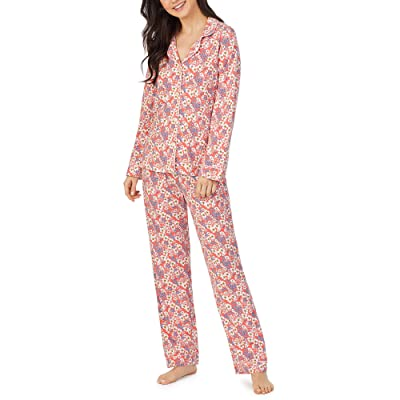 BedHead Pajamas Long Sleeve Classic Pajama Set (Meadows) Women