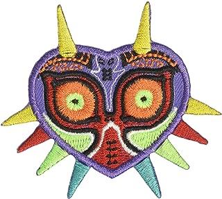 Majora's Mask Legend of Zelda Embroidered Iron on Patch Appliqué