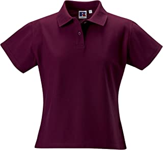 Russell Europe Womens/Ladies Ultimate Classic Cotton Short Sleeve Polo Shirt