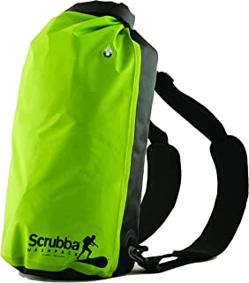 Scrubba Washパック–Weatherproofバックパックthat doubles as aポータブル洗濯マシン