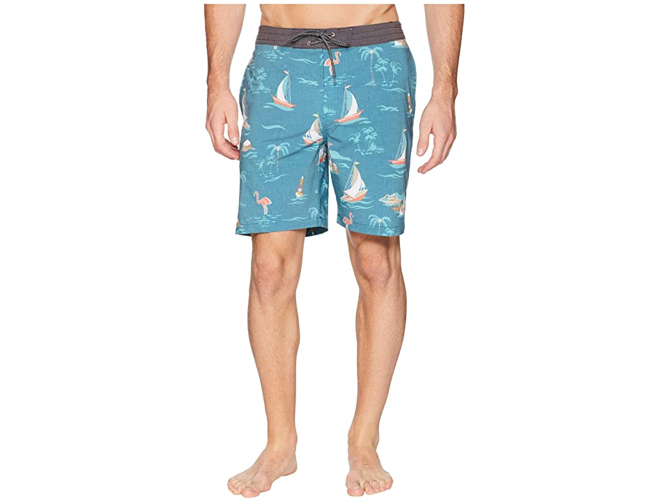Rip Curl Parker Layday Boardshorts (Green) Men