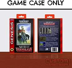 Sega Genesis Sword of Vermilion - Case