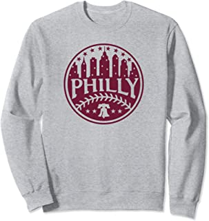 Philadelphia Baseball City Skyline Philly Philly Special Sweatshirt