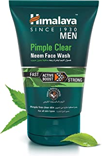 Himalaya Men Pimple Clear Neem Facewash- 100ml