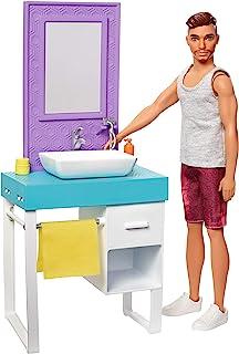 Barbie FYK53 - Ken zestaw zabawkowy z akcesoriami, lalkami i akcesoriami dla lalek od 3 lat