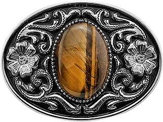 western belt buckle necklace
