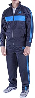 Vertical Sport Men's 2 Piece Jacket & Pants Slim Fit Jogging Track Suit