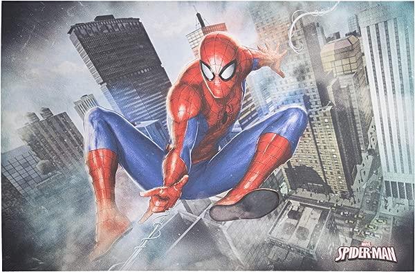 官方授权的漫威漫画超凡蜘蛛侠包裹帆布墙艺术 24 小时 X 36 L