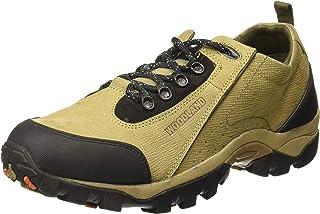 Woodland Men's Khaki Leather Casuals Shoes-10 UK/India (44 EU) -(OGC 2658117)