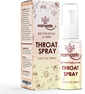 Bee Propolis Throat Spray - 99% Bee Propolis Extract - Natural Immunity Boosting Spray for Children and Adults - Works for...