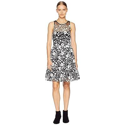 ZAC Zac Posen Adia Dress (Black/White) Women