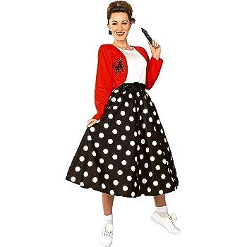 Rubies 16482STD - Disfraz de rockera para mujer (adulto) (talla 10 ...